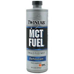 TwinLab Definition MCT Fuel - Tropical Orange - 16 oz - 027434001977