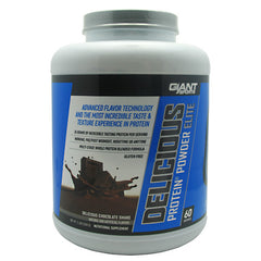 Giant Sports Products Delicious Protein Elite - Delicious Chocolate Shake - 5 lb - 639385330220
