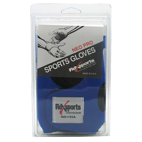 Flexsports International Neo Pro Sports Gloves Blue