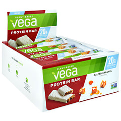 Vega Protein Bar - Salted Caramel - 12 Bars - 838766080840