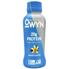 Only What You Need Protein Drink - Smooth Vanilla - 12 Bottles - 10857335004985