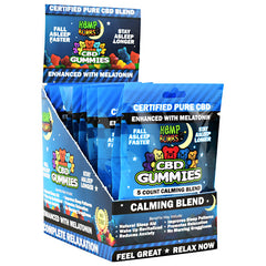 Hemp Bombs CBD Gummies with Melatonin - 12 ea - 721782748330