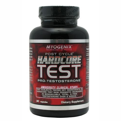Myogenix Hardcore Test