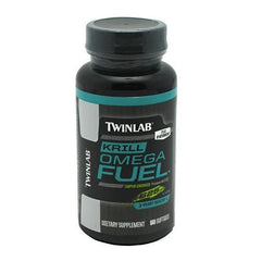 TwinLab Krill Omega Fuel - 50 Softgels - 027434040969