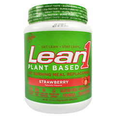 NUTRITION 53 Plant Based Lean1 - Strawberry - 15 Servings - 810033013041