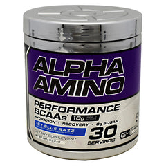 Cellucor Chrome Series Alpha Amino - Icy Blue Razz - 30 Servings - 810390028313