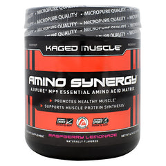 Kaged Muscle Amino Synergy - Raspberry Lemonade - 30 Servings - 852253007936