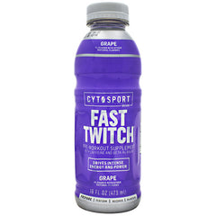 Cytosport Fast Twitch - Grape - 12 Bottles - 00876063816267