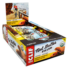 Clif Bar Nut Butter Filled Energy Bar - Banana Chocolate Peanut Butter - 12 ea - 722252151230