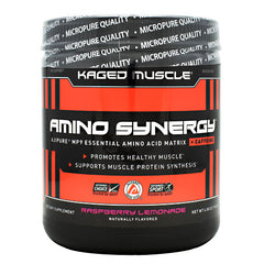 Kaged Muscle Amino Synergy + Caffeine - Raspberry Lemonade - 30 Servings - 852253007929