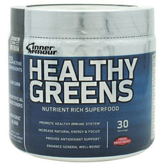 Inner Armour Blue Healthy Greens - Fresh Mixed Berry - 30 Servings - 183859103198