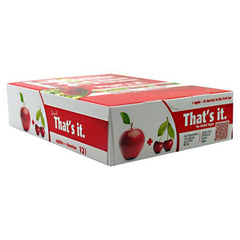 Thats it Nutrition Thats it Bar - Apple + Cherry - 12 Bars - 850397004033