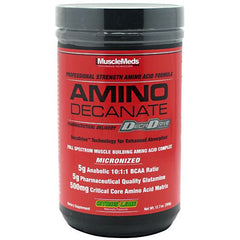 Muscle Meds Amino Decanate - Citrus Lime - 12.7 oz - 891597002627