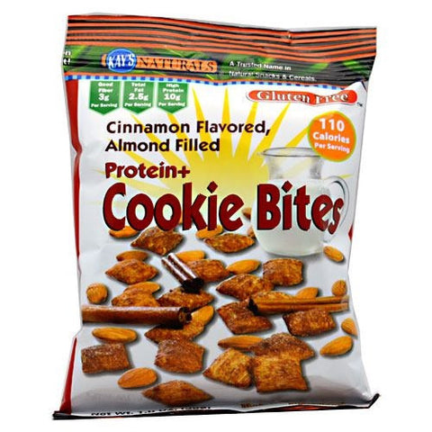Kays Naturals Cookie Bites - Cinnamon Flavored, Almond Filled - 1 oz - 10811178009453