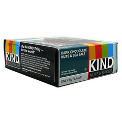 Kind Snacks Kind Bar - Dark Chocolate Nuts & Sea Salt - 12 Bars - 602652177514
