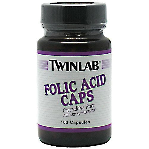 TwinLab Folic Acid Caps