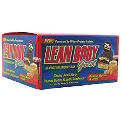 Labrada Nutrition Lean Body Gold - Peanut Butter & Jelly - 12 ea - 710779444935