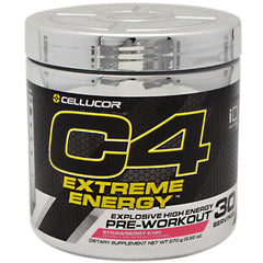 Cellucor iD Series C4 Extreme Energy - Strawberry Kiwi - 30 Servings - 842595100532