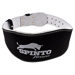 Spinto Padded Leather Lifting Belt - Black - 1 ea - 636655966585