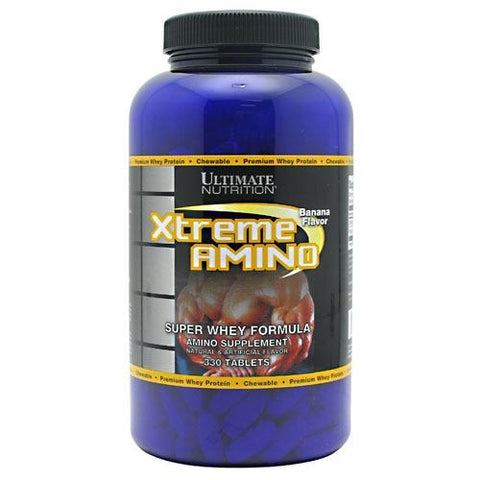 Ultimate Nutrition Xtreme Amino - Banana - 330 Tablets - 099071001238