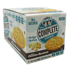 Lenny & Larrys All-Natural Complete Cookie - White Chocolate Macadamia - 12 ea - 787692835607