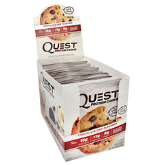 Quest Nutrition Quest Protein Cookie - Chocolate Chip - 12 ea - 888849006090