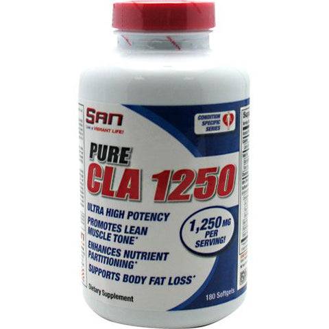SAN Pure CLA 1250 - 180 Softgels - 672898126003