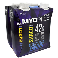 EAS Shred Myoplex RTD - Berry Jacked - 12 ea - 00791083667630