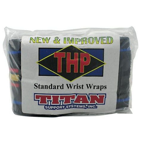 Titan Support Systems High Performance Standard Wrist Wraps - Titan Support Systems High Performance Standard Wrist Wraps - 896514001066