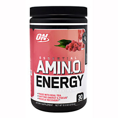 Optimum Nutrition Tea Series Essential Amino Energy - Raspberry Black Tea - 30 Servings - 748927057942