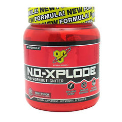 BSN N.O.-Xplode - Fruit Punch - 30 Servings - 834266001521