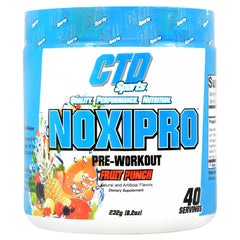 CTD Labs Noxipro - Fruit Punch - 40 Servings - 748252905710