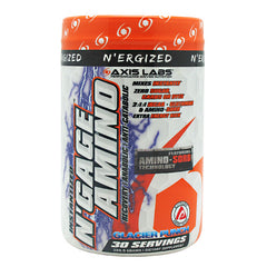 Axis Labs NErgized NGage Amino - Glacier Punch - 30 Servings - 689076958905