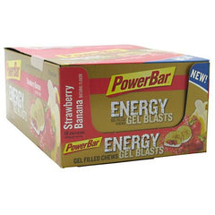 PowerBar Energy Gel Blast - Strawberry Banana - 12 ea - 097421150506