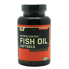 Optimum Nutrition Fish Oil - 100 Softgels - 748927029840