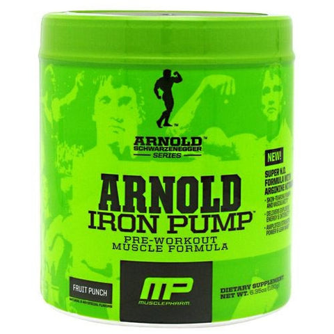 Arnold By Musclepharm Iron Pump - Fruit Punch - 30 ea - 696859258527