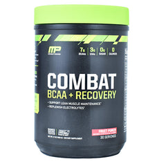 MusclePharm Combat Series Combat BCAA + Recovery - Fruit Punch - 30 Servings - 851387008703