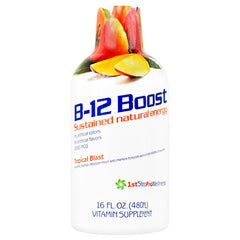 High Performance Fitness B12 Boost - Tropical Blast - 16 oz - 673131100316