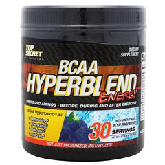 Top Secret Nutrition Hyperblend BCAA - Blue Raspberry - 30 Servings - 855659004387