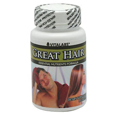 Vitalabs Great Hair - 30 Tablets - 092617012217