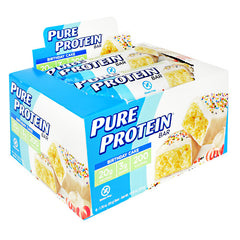 Pure Protein Pure Protein Bar - Birthday Cake - 6 Bars - 749826763323