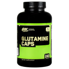 Optimum Nutrition Glutamine Caps - 240 Capsules - 748927022834