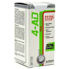 Advanced Muscle Science 4-AD-RDe - 60 Tablets - 893461001835