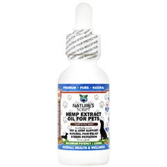 Natures Script Pets Hemp Extract Oil - Chefs Cut Beef - 125 mg - 721782746787