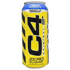Cellucor Original C4 On the Go - Sparkling Frozen Bombsicle - 12 Cans - 842595106602