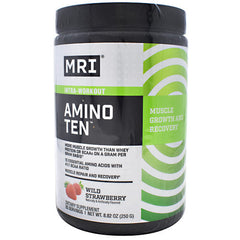 MRI Amino Ten - Wild Strawberry - 25 Servings - 633012071944