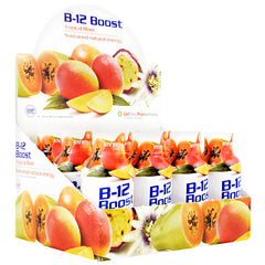 High Performance Fitness B-12 Boost - Tropical Blast - 12 Bottles - 673131100323
