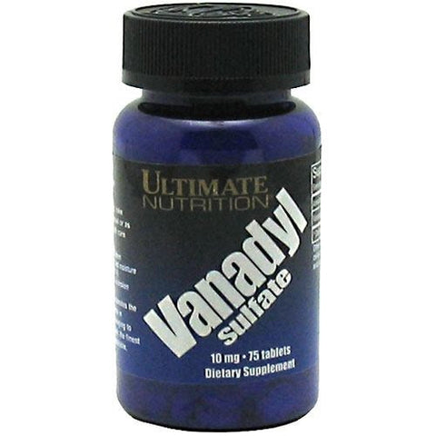 Ultimate Nutrition Vanadyl Sulfate - 75 Tablets - 099071000873