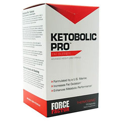 Force Factor Ketobolic Pro Fat Burner - 70 Capsules - 852496002804