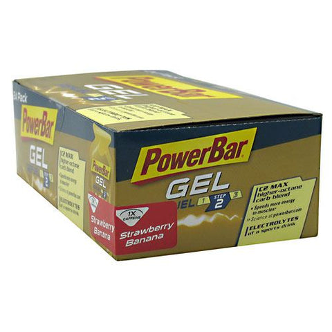 PowerBar Gel - Strawberry Banana - 24 Packages - 097421450408
